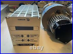 Varian Turbo-v 250 Turbomolecular Pump And Controller /cable