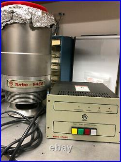 Varian V450 Turbomolecular Pump and Controller